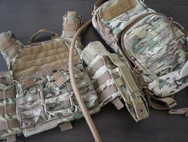 Multicam Camo Camelbak Miltac Mule Backpack Review Plate Carrier Fit