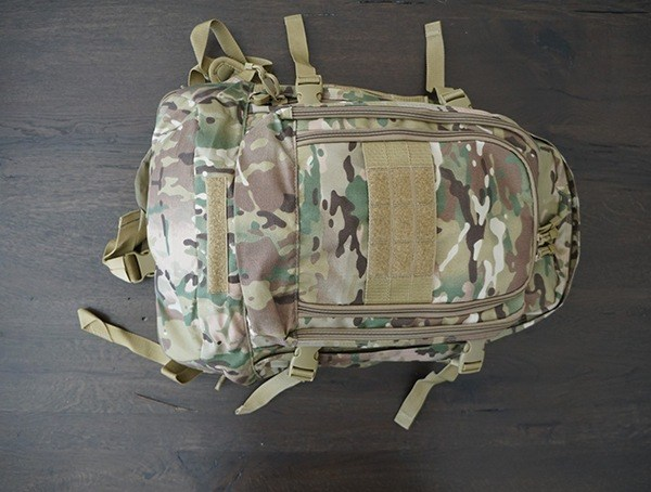Multicam Mercury Tactical 3 Day Strech Backpack Front