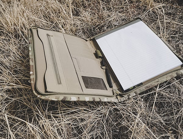 Multicam Mercury Tactical Zippered Padfolio Reviews