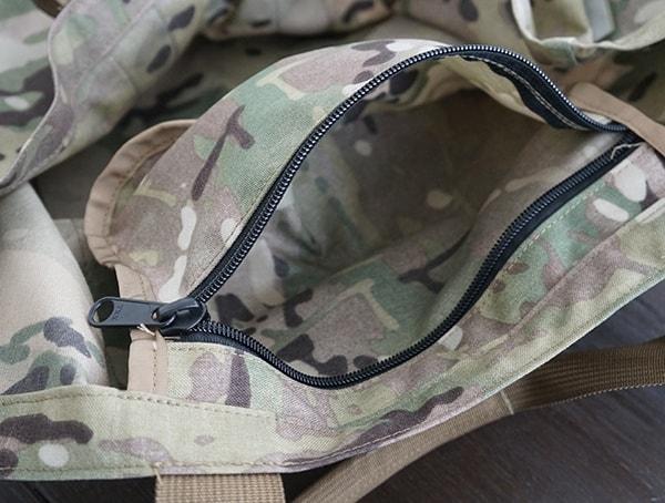 Multicam Otte Gear Gp Tote Interior Pocket Open
