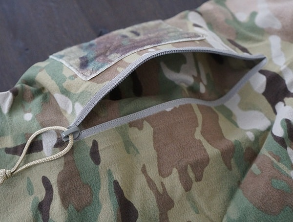 Multicam Otte Gear Tactical Mens Overwatch Anorak Arm Compartment Open