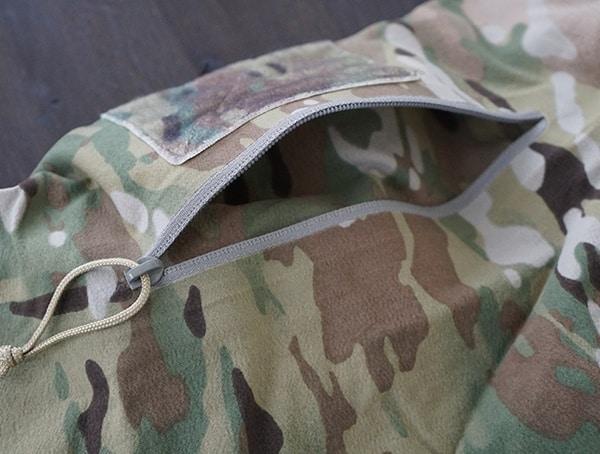 Multicam Otte Gear Tactical Mens Overwatch Anorak Arm Compartment Open