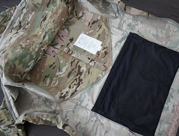 Multicam Otte Gear Tactical Mens Overwatch Anorak Interior Details