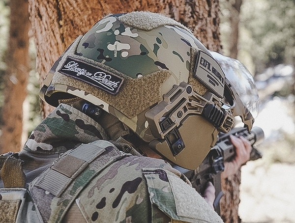 Multicam Tactical Team Wendy Ballistic Exfil Sl Helmet Review