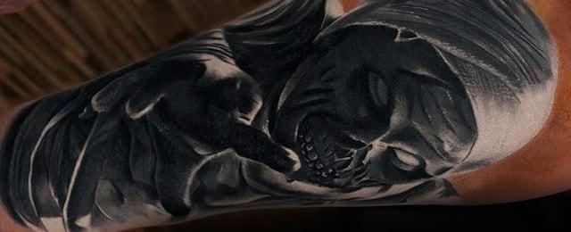 Mummy Tattoo Designs For Men
