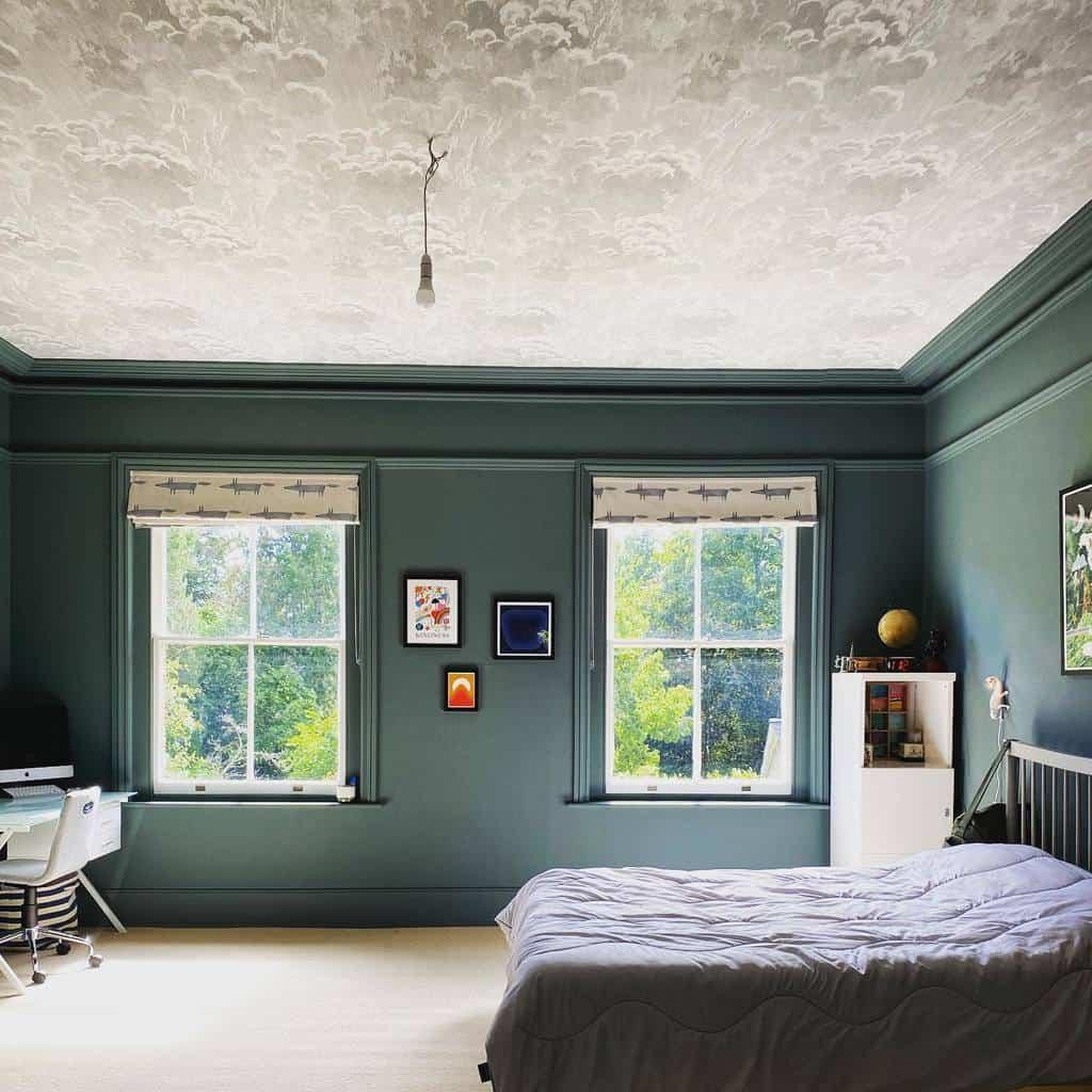 mural bedroom wallpaper ideas dickiebertinteriors
