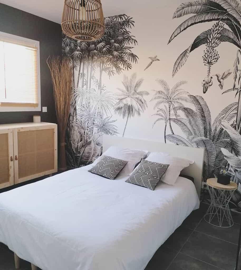 mural bedroom wallpaper ideas poupette_s_life