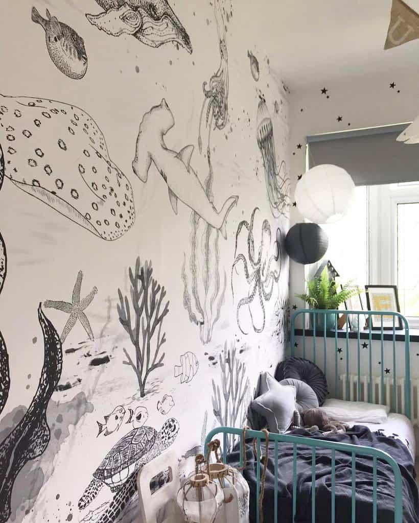 mural bedroom wallpaper ideas the_creative_saint
