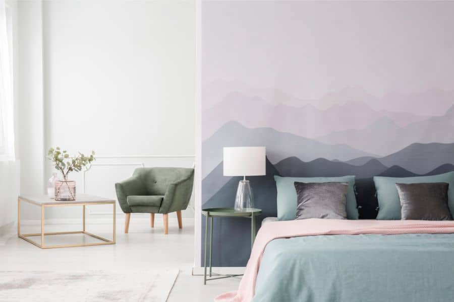 Murals Or Stencil Accent Wall Ideas