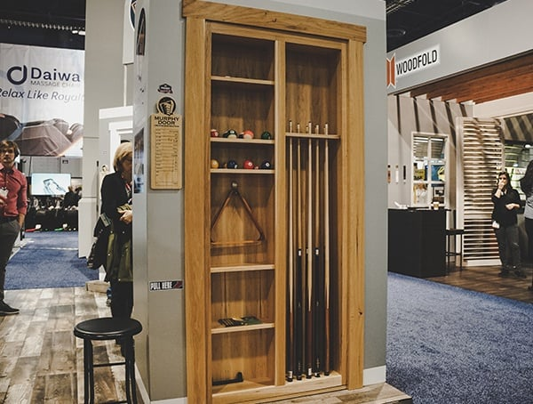 Murphy Door Pool Table Equipment National Association Home Builders Show 2019