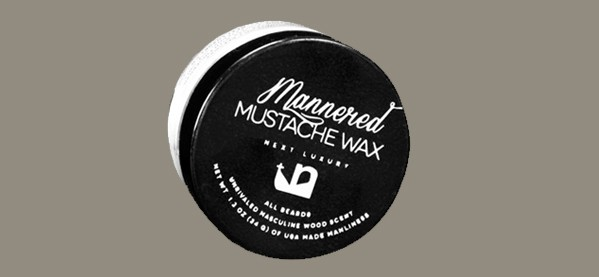 Mustache Wax For Men