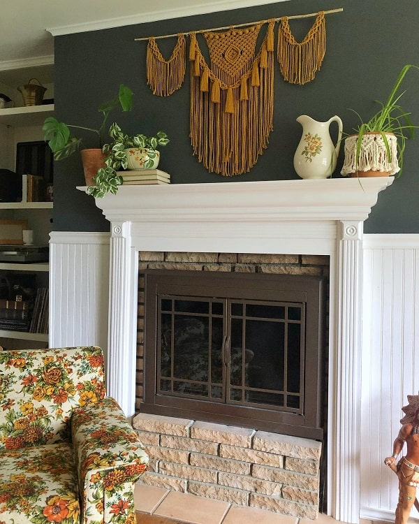 Mustard Mantel Decor Ideas Elmariemacrame