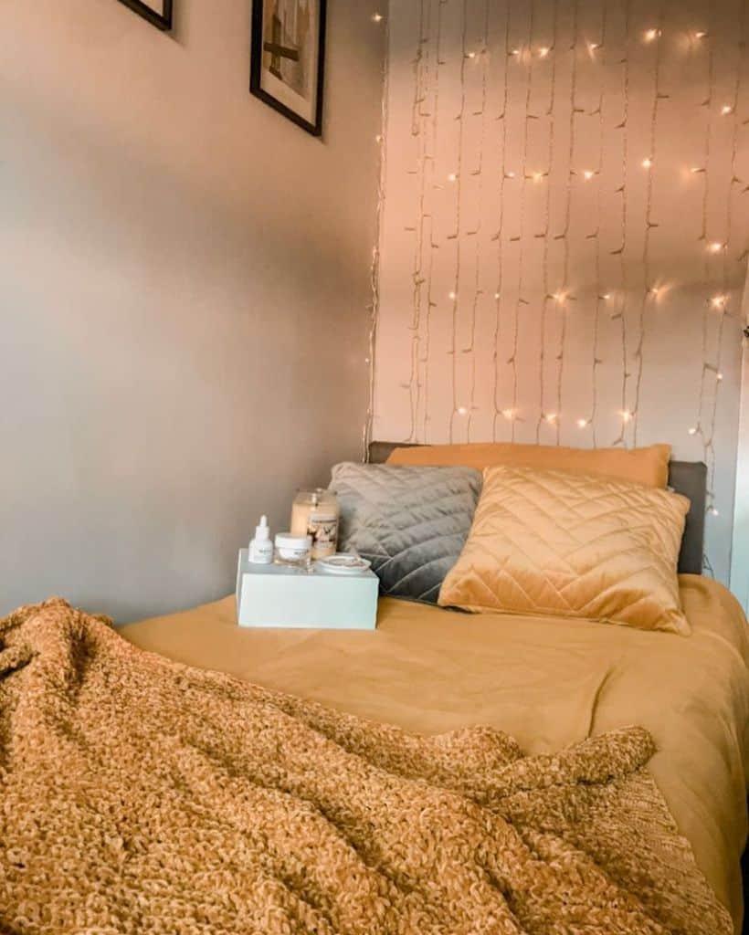 mustard or darker yellow interior bedroom ideas itszahrakhanx