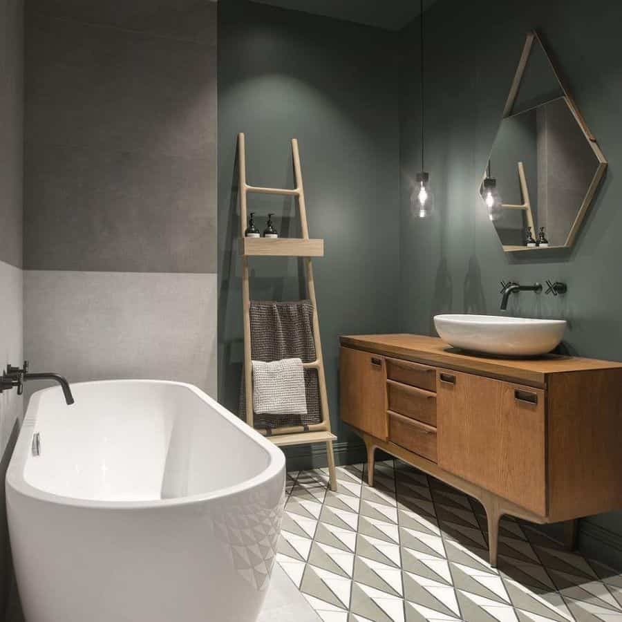 Muted Color Bathroom Color Ideas Int2architecture