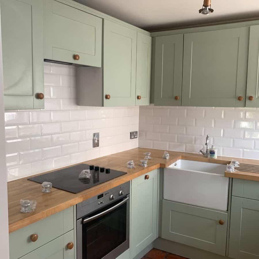Muted Color Kitchen Paint Colors C Refinish