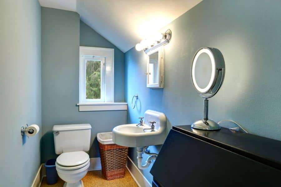 Muted Color Small Bathroom Paint Ideas 3