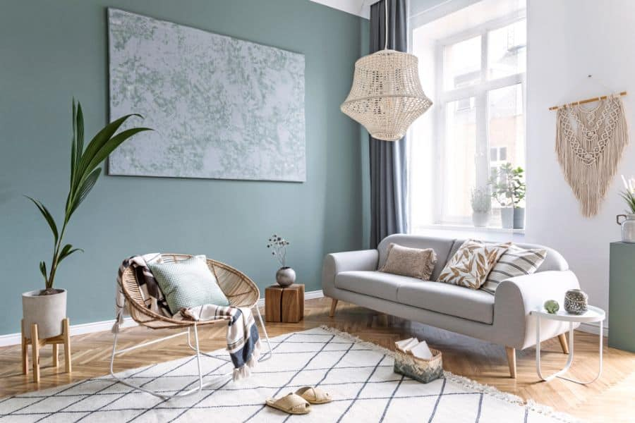 Muted Colors Living Room Paint Ideas 3