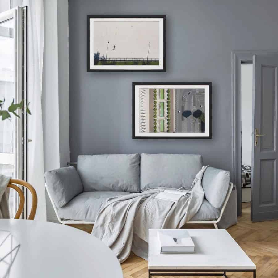 Muted Colors Living Room Paint Ideas C.designstore