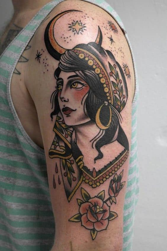Mysterious Gypsy Tattoo
