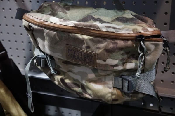 Mystery Ranch Camo Hip Bag