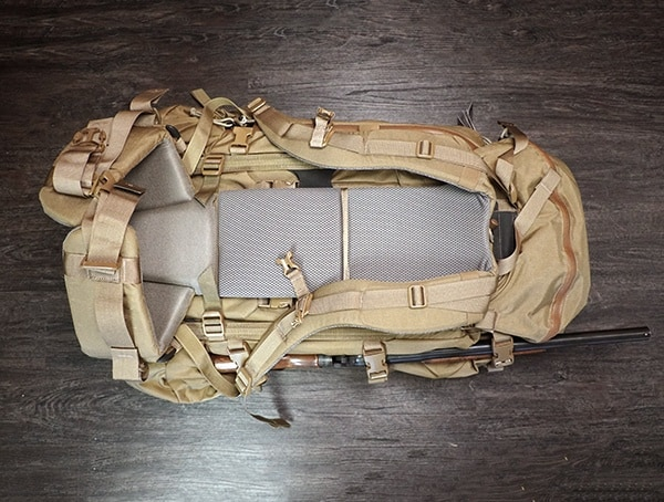 Mystery Ranch Marashall Back Of Pack With Rifle Added