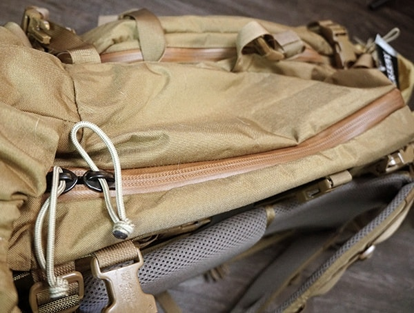 Mystery Ranch Marashall Hunting Pack Side Closed