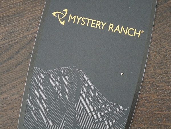 Mystery Ranch Mission Rover Tag