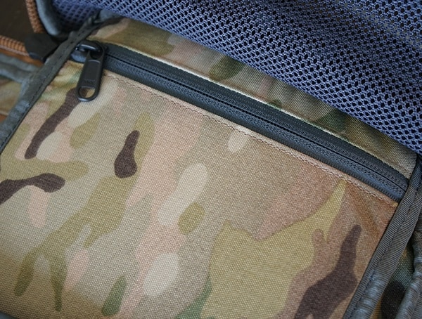 Mystery Ranch Urban Assault Back Panel Zipper Compartment Interior Of Backpack