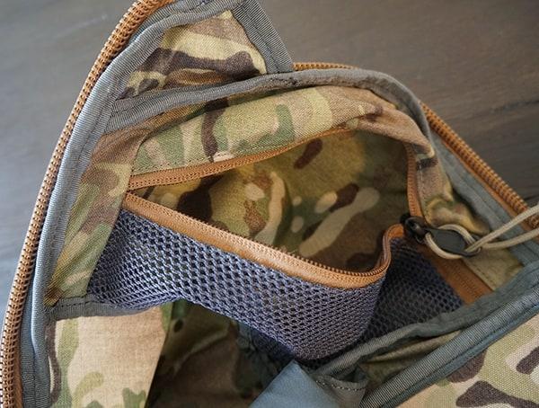 Mystery Ranch Urban Assault Unzipped Open Side Mesh Pocket