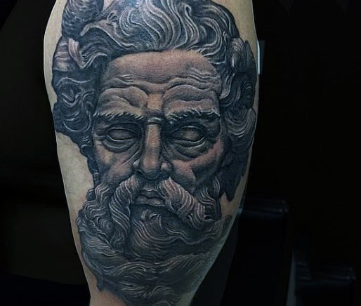 Mythology God Tattoo For Men
