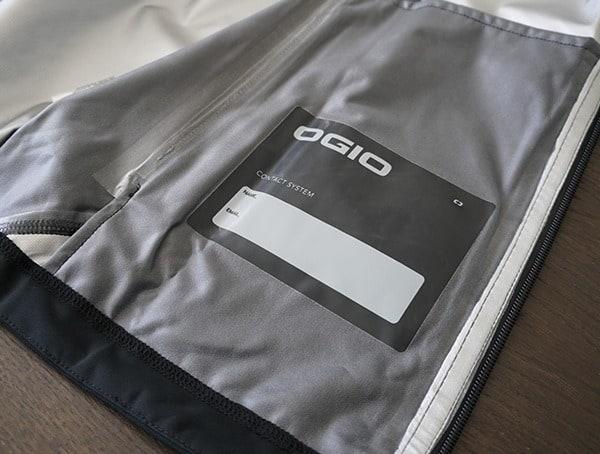 Name Tag On Inner Of Jacket Ogio All Elements Elite Rain