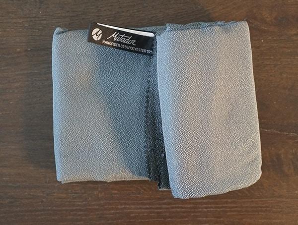 Nanofiber Matador Nanodry Shower Towel
