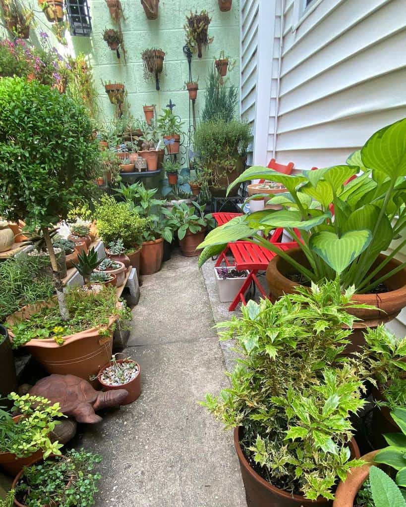 narrow backyard small backyard ideas pcalingo