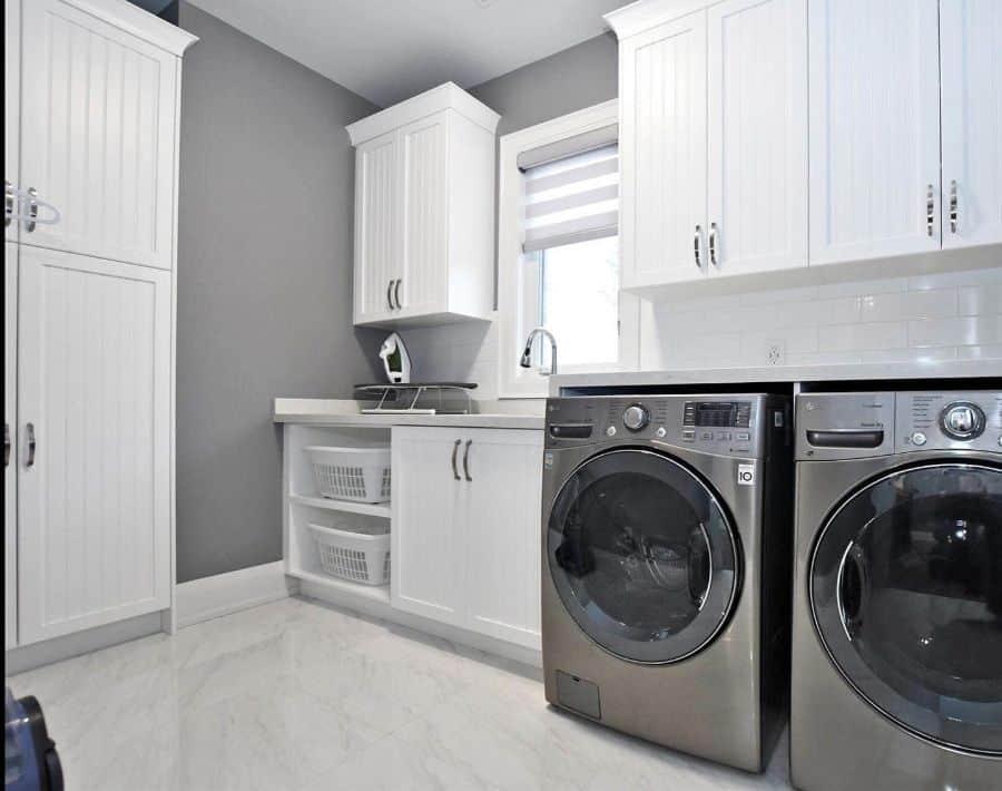 narrow laundry room cabinet ideas nuteckhomesltd