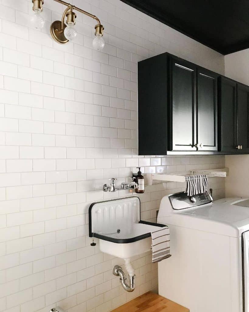narrow laundry room sink ideas dewitt17designandbuild