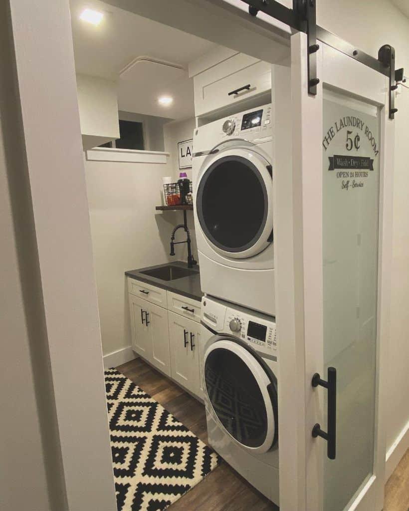 narrow laundry room sink ideas dpdesignstudio