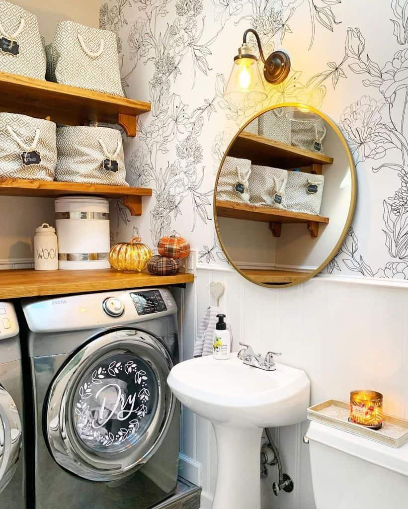 narrow laundry room sink ideas fernsnest