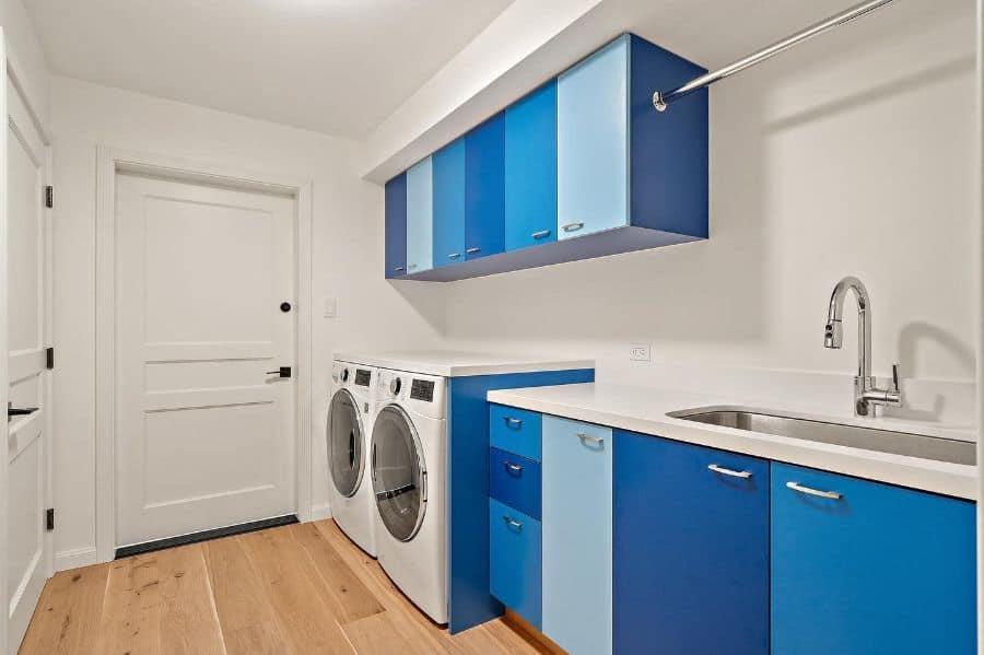 narrow laundry room sink ideas sfnorthbayconstruction