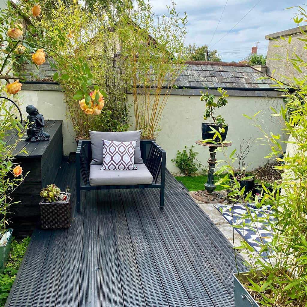 narrow small backyard patio ideas juliannapropertydesigns