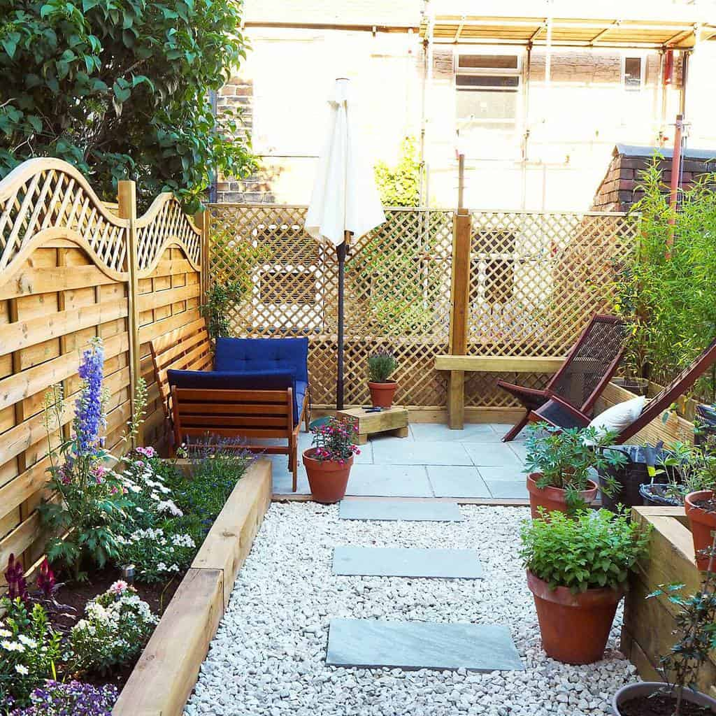 narrow small backyard patio ideas s.l.f_home