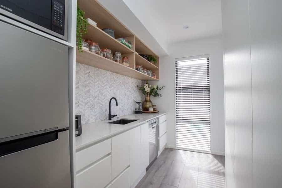 Narrow Small Kitchen Ideas Septemberandsage