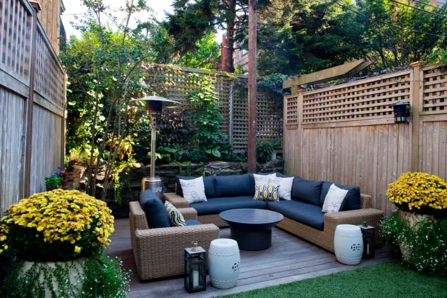 Narrow Small Patio Ideas 49