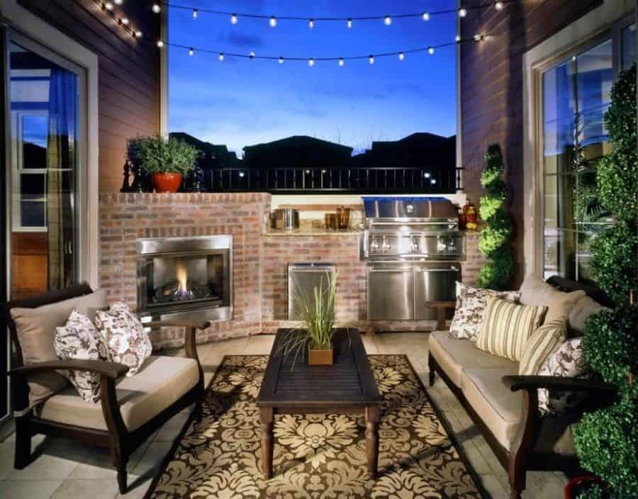 Narrow Small Patio Ideas Celenerealestate