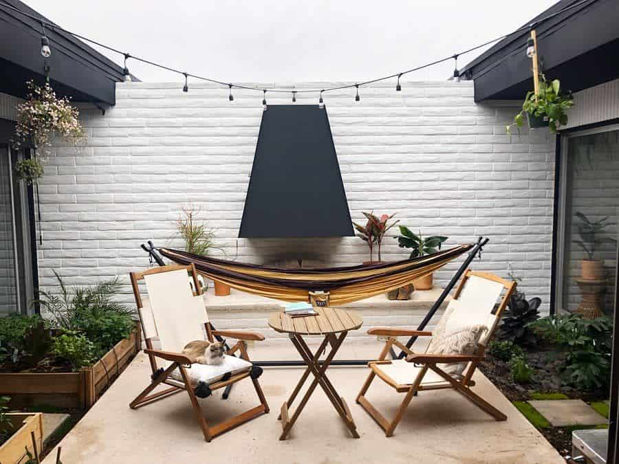 Narrow Small Patio Ideas Tofucoco
