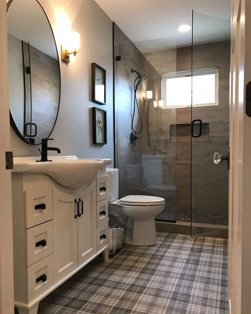 Narrow Small Shower Ideas Abigail Hayden Interior Design