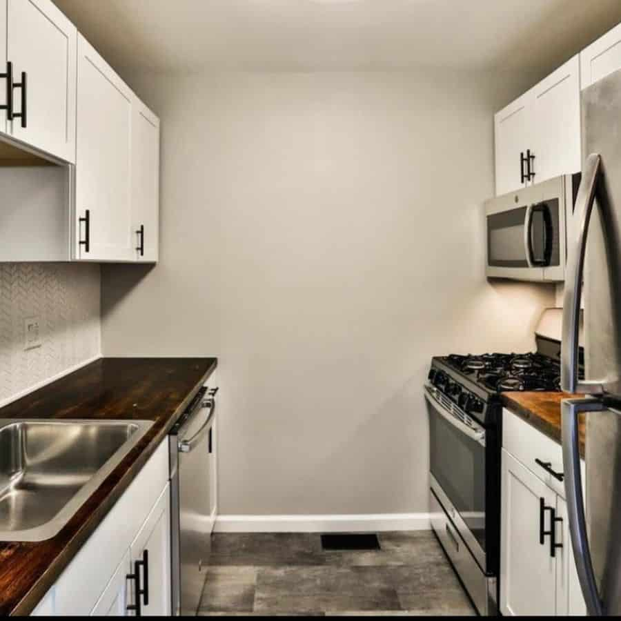 narrow tiny kitchen ideas kelleherhomeimprovementsllc