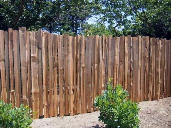 Natural Board Planks Ideas For Wooden Fence