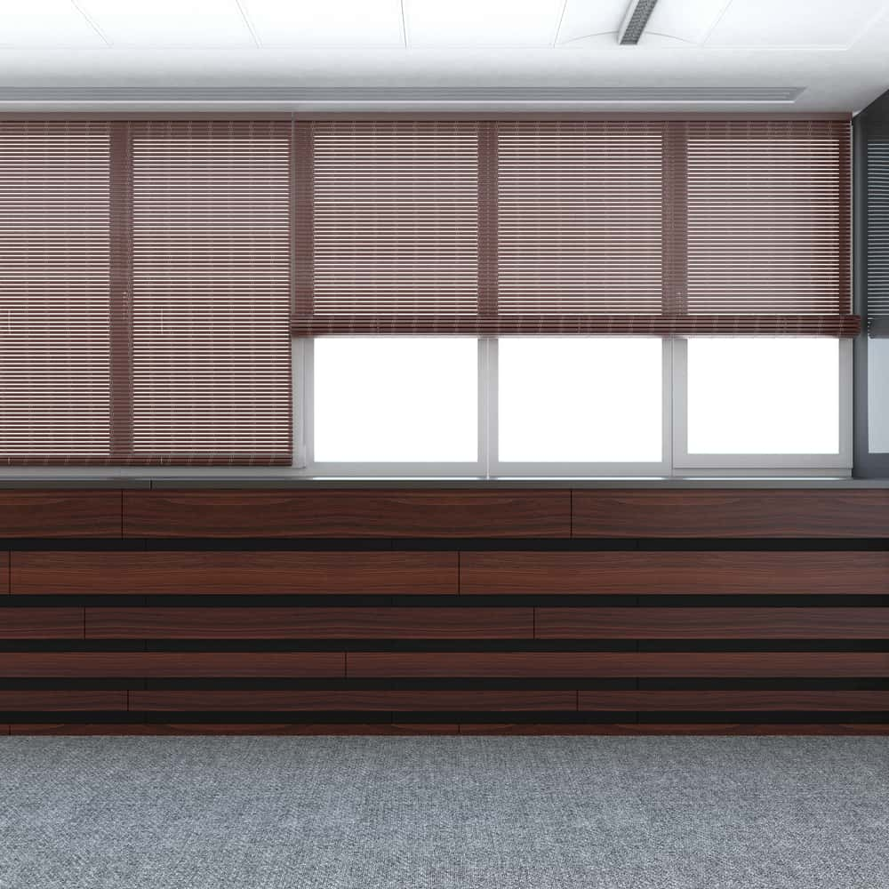 Natural Fiber Window Treatments Ideas 2