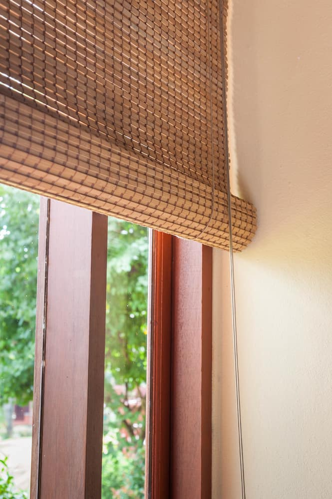 Natural Fiber Window Treatments Ideas 3