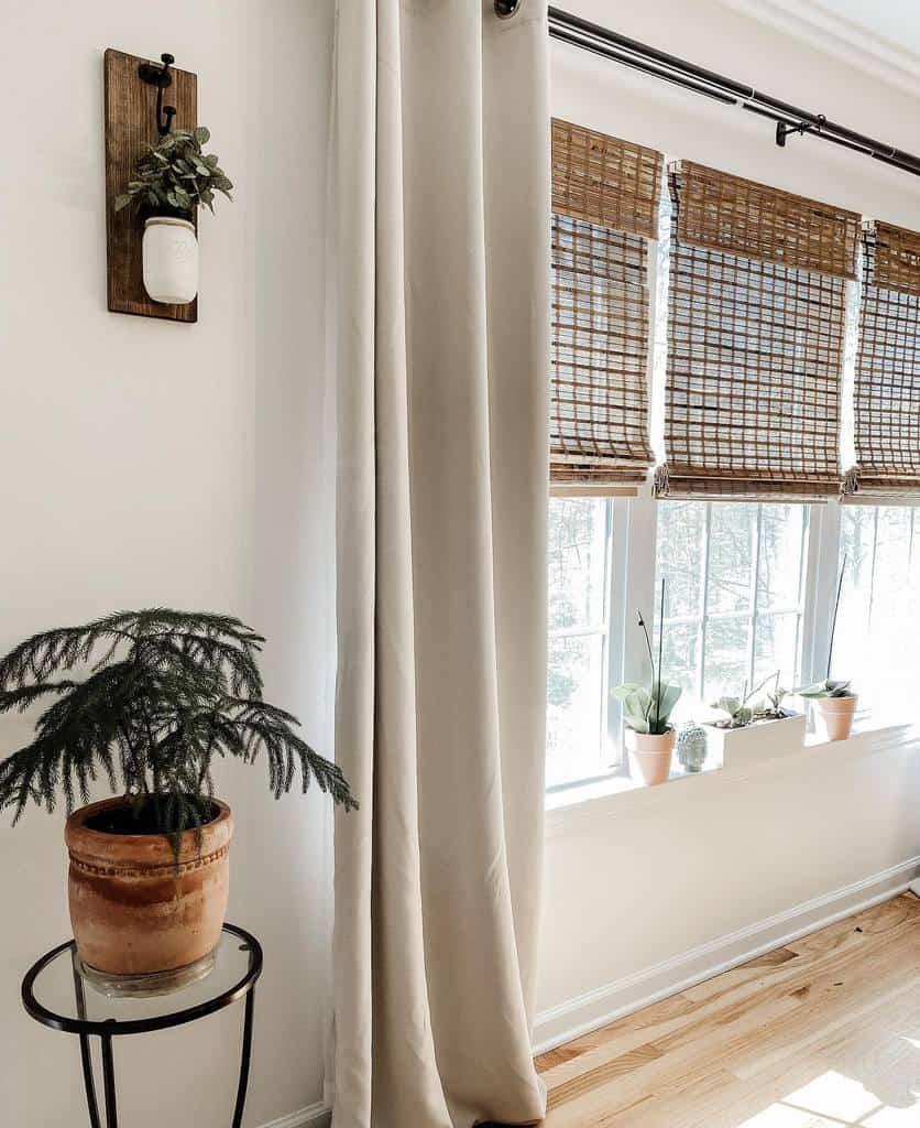 Natural Fiber Window Treatments Ideas Therakishrose
